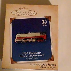 Hallmark Keepsake 1939 Hiawatha Locomative